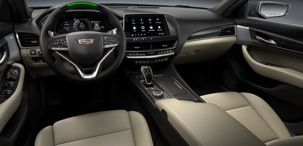 2021 Cadillac CT4 and CT5 Interior Features
